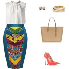 Lovely Ankara Styles for Curvy Women - Sisi Couture African Print Dresses, African Print Fashion, Africa Fashion, African Dress, Fashion Prints, Ankara Fashion, African Prints, African Print Skirt, African Attire