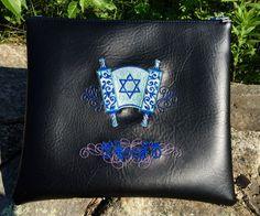 Hand Made Tallit Bag - Like Leather - Torah Scroll Bag - 8 Colors  #mitzvah #gift #israel #holyland #judaica #jewish