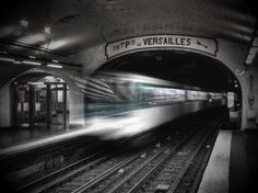 The Paris metro.