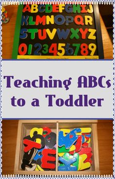 5 Ways to Teach ABCs to a Toddler with Magnetic Letters – I love Melissa & Doug products, especially their hand-crafted wooden toys. One of our favorites is the magnetic chalk/dry erase board with magnetic letters (and numbers, too!). We got this board when my 4-year old was about 1-year old and we used it all the time with him to teach him his ABCs. We're now using it to teach JA his ABCs. JA is 16-months old. A few letters from our original purchase have been lost over the years and…