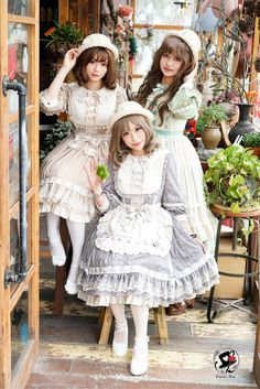 Fantastic Wind -Milky Way Star Chips- Sweet Classic Lolita OP Dress