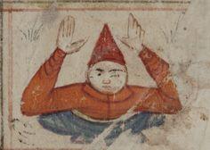 Al Dhira. From Kitab al-Bulhan, Written in Arabic, location unknown, 1330-1450 MS. Bodl. Or. 133 (shelfmark)