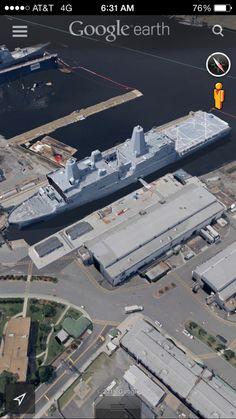 New fleet command ship-Norfolk VA