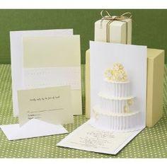 pop up wedding invite..
