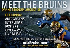 UCLA Football - Meet the Bruins (Aug. 18, 2012 - Drake Stadium)