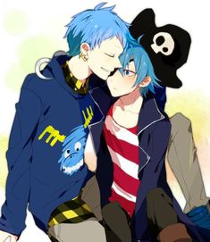 happy tree friends anime ver russell and lumpy