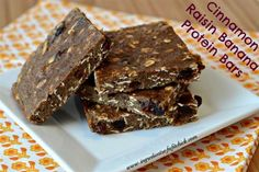 Cinnamon Raisin Banana Protein Bars - The Kitchen Table - The Eat-Clean Diet®