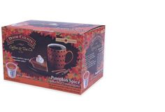 12-Count. Pumpkin Spice Coffee for Single Serve Coffee Makers, Free Shipping #DoorCountyCoffeeTeaCompany