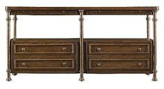 Stanley Furniture European Farmhouse Console