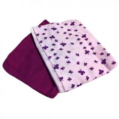Cloth, 2-pack clover pink/purple, Pippi