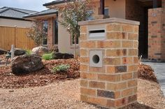 We have been given some bricks, and I have a mailbox in mind, which is something that cannot be stolen like our previous brand new heritage style mailbox.