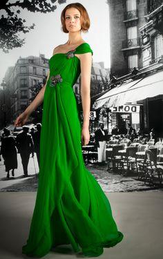 dreamy green Reem Acra
