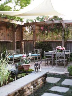 Garten abschirmen Sichtschutz-hoher Holzzaun Gitter
