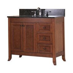 """$420, plus 11% mail in rebate for $375. 36"""" Ashwell Collection Vanity Base"""