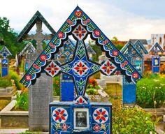Cimitirul Vesel - Săpânța Hungary, Folk, Merry, Stock Photos, Holiday Decor, Travel, Beautiful, Ukraine, Nails