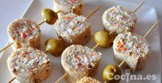 Cómo hacer canapés fáciles y originales [+sorteo] http://www.cocina.es/2013/09/16/como-hacer-canapes-faciles-y-originales/ - #recetas #recipes