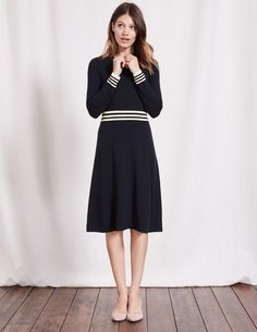 Hilda Knitted Dress WW137 Knitted Dresses at Boden