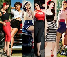 How to pull off the pin up look - with class and style!