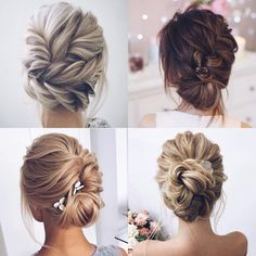 - Wedding hair updos that will make you say yes Bridesmaid Hair Half Up Braid, Bridesmaid Hair Medium Length, Up Hairstyles, Braided Hairstyles, Wedding Hairstyles, Medium Hair Styles, Long Hair Styles, Wedding Updo, Hair Inspiration