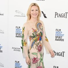 Cate Blanchett's Dress at the Spirit Awards 2016 | Spring '16 Gucci gown