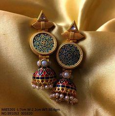 Earrings – Page 9 – Modern Jewelry Antique Jewellery Designs, Fancy Jewellery, Gold Jewellery Design, Stylish Jewelry, Modern Jewelry, Antique Jewelry, Handmade Jewellery, Handmade Bracelets, Antique Earrings