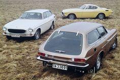 Volvo P1800 E and ES