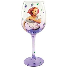 NEW I Love Lucy Grape Stomping Crushing Wine Lovers Glass 15-oz Goblet Drinking | the I Love Lucy Collectionary