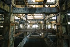 The 38 Most Haunting Abandoned Places On Earth Just Might Give You Chills...(Abandoned Coal Plant in France.
