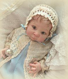 Baby Dolls For Toddlers, Reborn Baby Dolls, Crochet Hats, Fashion, Layette, Baskets, Bebe, Knitting Hats, Moda
