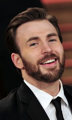 Chris Evans at 'Good Morning America' on March 31, 2014 in New York City