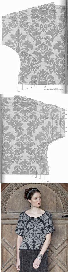 «Rowan Knitting & Crochet Magazine №54 2013» | вязание(жаккард,вышивка) | Постила