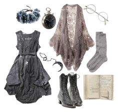 """""""scatterbrained"""" by n-nyx ❤ liked on Polyvore featuring Joe Browns, Toast, Masquerade, Rock 'N Rose, Mes Demoiselles... and Eichholtz"""