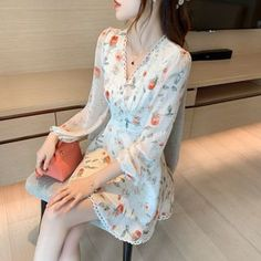 Lace Trim, China, Shoulder, Sleeve, Floral, Color, Dresses, Products, Fashion