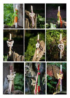 Πασχαλινές λαμπάδες με υλικά NewMan από τις CraftFairies | Bombonieres.com.gr