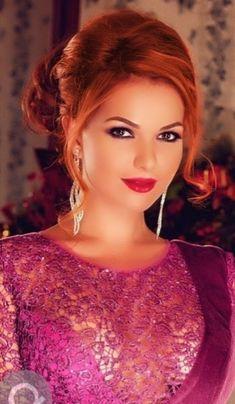 Most Beautiful Faces, Beautiful Girl Image, Beautiful Gorgeous, Simply Beautiful, Gorgeous Women, Pretty Redhead, Female Eyes, Sheer Beauty, Le Jolie