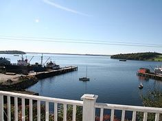 Lunenburg House Rental: Oceanfront Home Historic Lunenburg Fab Views Sale:off-season Early Bking | HomeAway