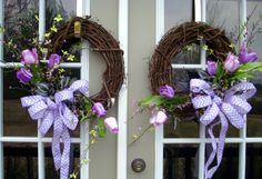 Hey, I found this really awesome Etsy listing at https://www.etsy.com/listing/181200475/spring-tulip-wreath-country-wreath