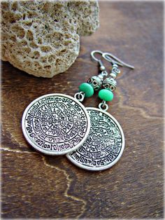 Boho Earrings  Gypsy Earrings  Boho Jewelry  by HandcraftedYoga, $25.00