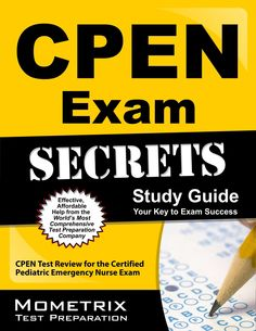 24 best cen and cpen review images on pinterest emergency room cpen exam secrets study guide cpen test review for the certified pediatric emergency nurse exam fandeluxe Choice Image