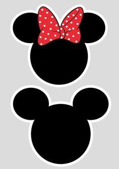 Uau! Veja o que temos para Toppers cabeca Minnie e Mickey