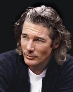 Richard Gere: I love long hair on men even though it's so narcissistic (of them, I mean)