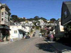 A drive through Sausalito, California #marinlife #marincountycalifornia #sausalitocalifornia