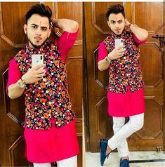 Indian Groom Dress, Wedding Dresses Men Indian, Wedding Dress Men, Indian Men Fashion, Royal Fashion, Mens Fashion, Mens Winter Suits, Punjabi Kurta Pajama Men, Wedding Blazers