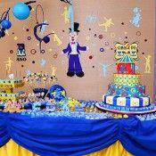 Cirque Du Erak, festa super original e feita pela família