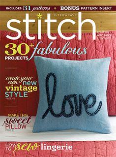 Featured In Stitch Magazine