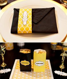 Image detail for -Oscar Party Printables + Food & Drink Ideas - Paisley Petal Events