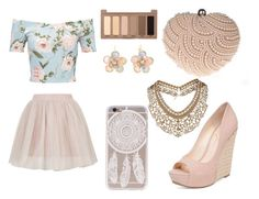 """""""London nights"""" by kayla-rogers123 on Polyvore featuring Miss Selfridge, Rare London, Jessica Simpson, Glam Cham, Urban Decay, Mixit and Topshop"""