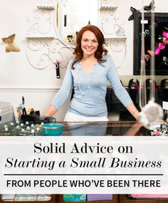 Entrepreneurs take note... Advice for small business success
