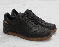 Nike5 Street Gato Woven - Black/Gum Medium-Brown | KicksOnFire