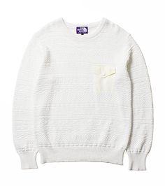 The North Face Purple Label / COOLMAX® Crew Neck Sweater